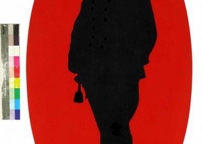 Giuseppe Salvatori Disubbidiente 1997 tempera su tavola cm.120x60