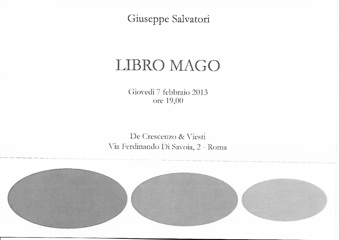 Giuseppe Salvatori – Libro Mago