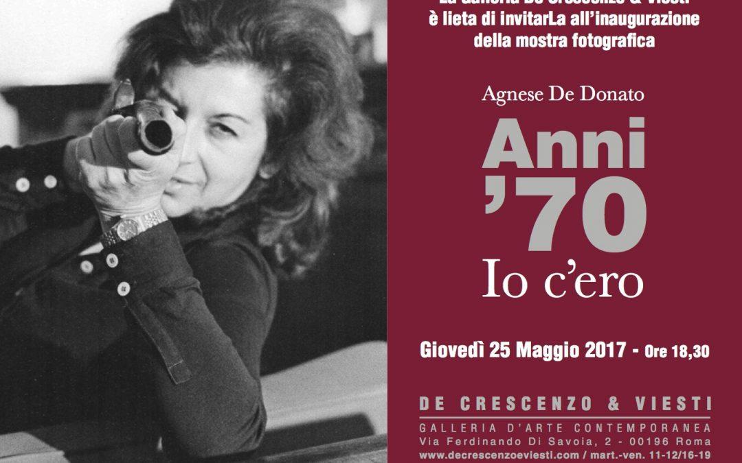 Agnese De Donato – Anni settanta: io c'ero